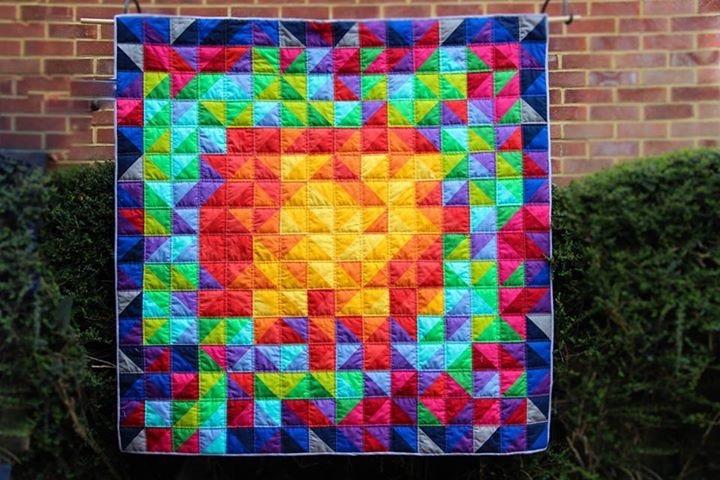 Basics Blocks : Half Square Triangles