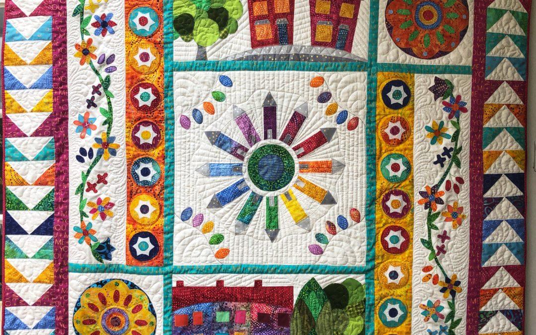 Phoenix Quilt – Free Appliqué Quilt Pattern
