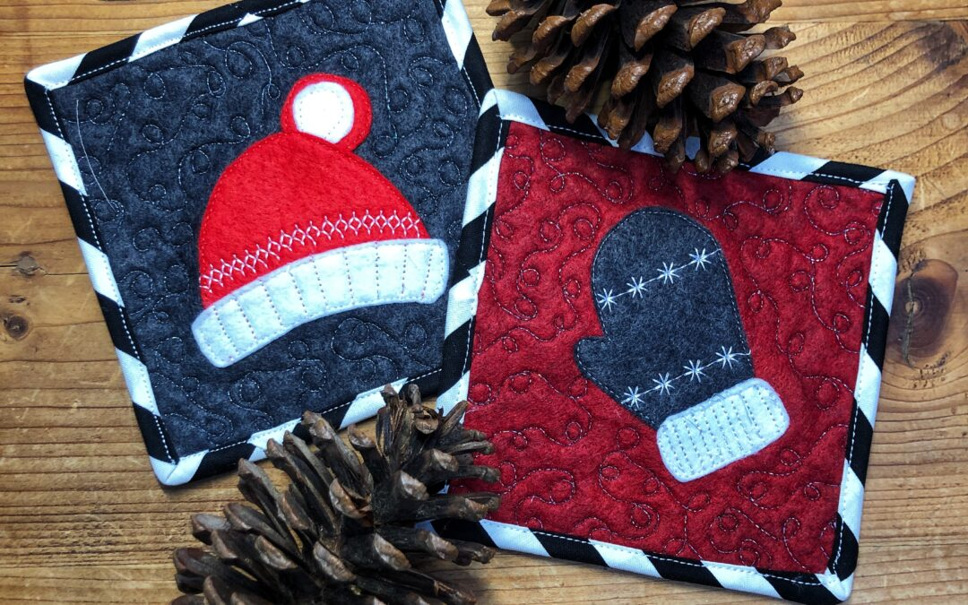 Free Winter Appliqué Project