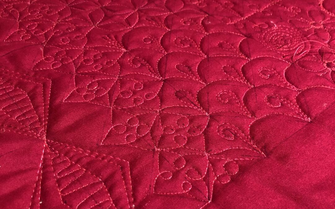 The Easiest Way to Start Free Motion Quilting