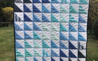 Free Pattern : Super Quick Baby Quilt
